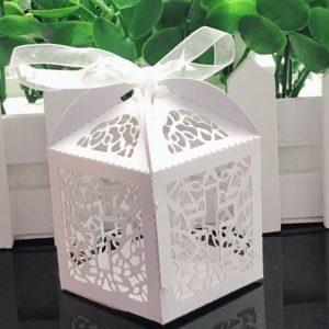 Dárková papírová krabička - 10 ks