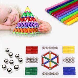 Zábavná magnetická stavebnice pro děti