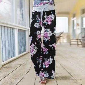 Dámské stylové joggers kalhoty Linda