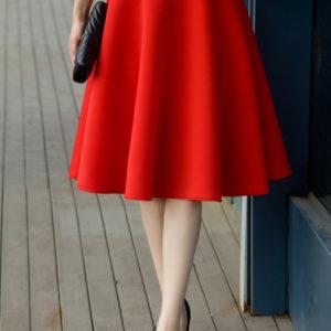 Dámská sukně s vysokým pasem Karlene