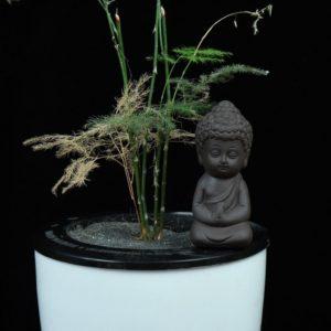 Hliněná soška Buddhy