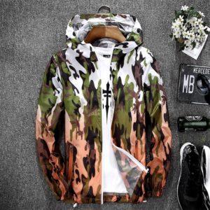 Pánská stylová bunda do deště Nash