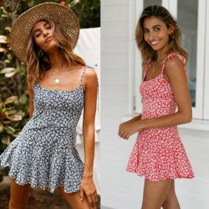 Dámské letní mini šaty Karly