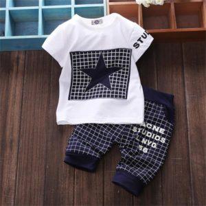 Dětská stylová souprava – kalhoty, triko