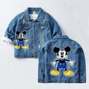 Jarní dětská džínová bunda pro děti