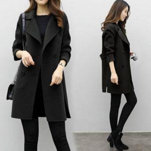 Dámský elegantní kabát Alexis