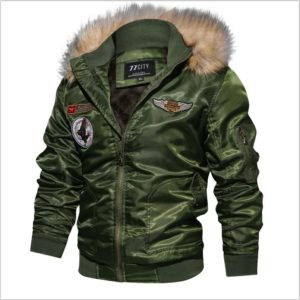 Killer Military Winter Jacket Men Thick Windbreaker Air Force Flight Jacket Tactical Hooded Mens Jacket Jaqueta masculina