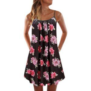 Dámské jednoduché letní šaty Monica