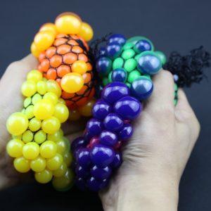 Antistresový míček v síťce