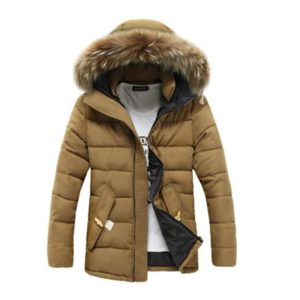 Men winter new thickening jackers students hats hooded Zipper winter jackers mens casual fashion down cotton parkas