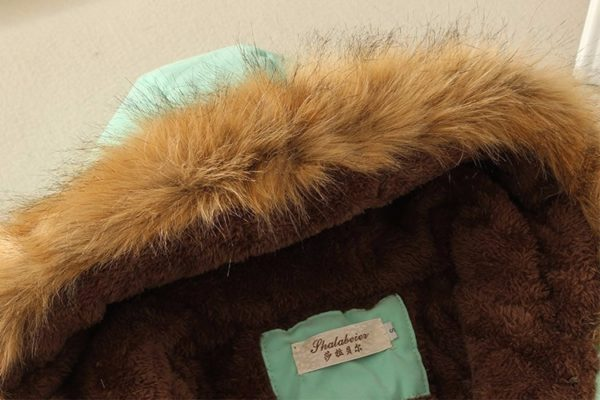 Dámska bavlnená bunda s nášivkami