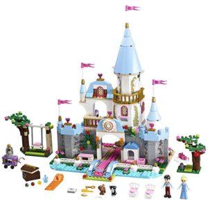 Modrá stavebnice pro dívky Hrad pro princezny