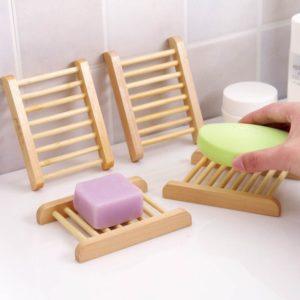 Dřevěný držák na mýdlo