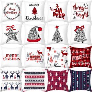 Luxusní vánoční povlaky na polštář