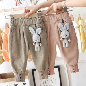Dívčí stylové kalhoty