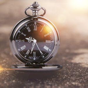 Pánské elegantní kapesní hodinky Daklos