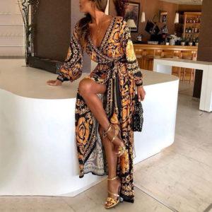 Dámské dlouhé šaty Carlee