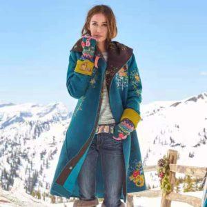 Dámský zimní kabát Meredith