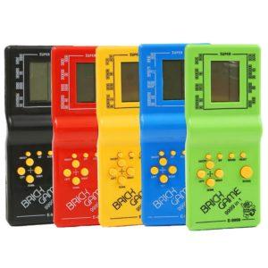 Hrací retro konzole - Tetris
