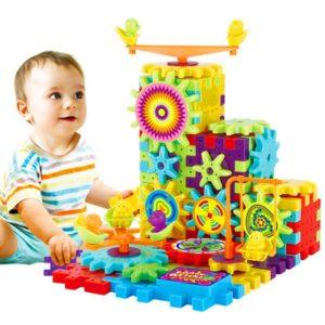 Interaktivní zábavná dětská stavebnice