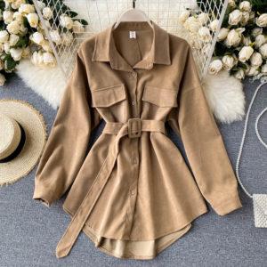 Dámská luxusní Vintage bunda - jaro / podzim