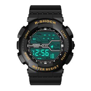Voděodolné pánské hodinky s LCD displejem R-SHOCK
