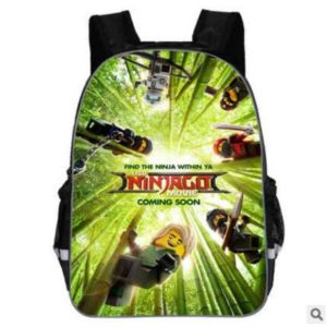 Školní batoh s potisky pro chlapce