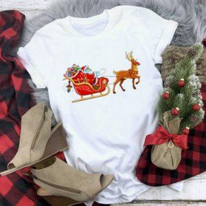 Dámské tričko s vánočními motivy