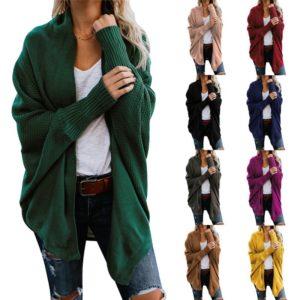 Dámský pletený over - size kardigan