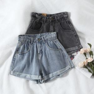 Letní dámské riflové šortky