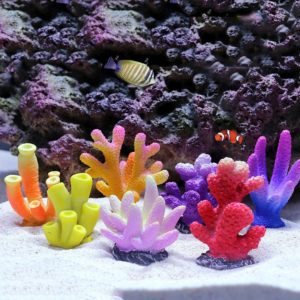 Umělý korál do akvária