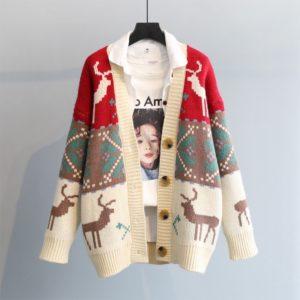 Dámský luxusní vánoční svetr Gracey