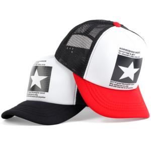 Pánská trendy kšiltovka se síťkou Star