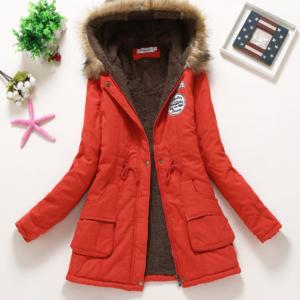 Dámský zimní stylový kabát Sparks