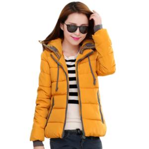 Dámská teplá zimní bunda Stokes s kapucí