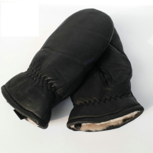 Pánské zimní rukavice z pravé kůže