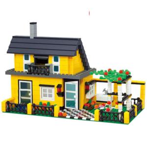 Dětská stavebnice domeček 449 ks