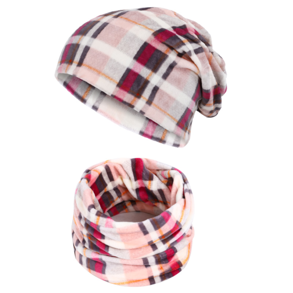 Set dámské čepice a nákrčníku Wenona