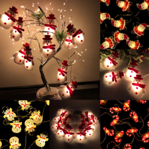 Vánoční dekorativní světelný strom
