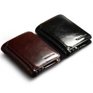 Luxusní pánská kožená peněženka