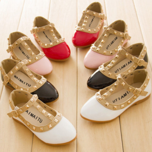Dívčí letní zdobené botičky