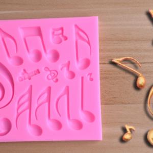 Silikonová forma na čokoládové noty