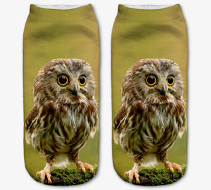 Stylové 3D ponožky se zvířaty