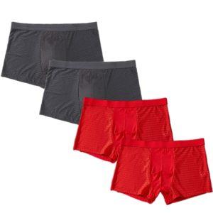 Pánské boxerky - sada čtyř kusů v různých barvách