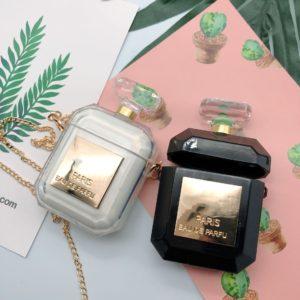 Luxusní obal na airpods ve tvaru parfému
