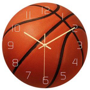 Originální kulaté nástěnné hodiny pro sportovce