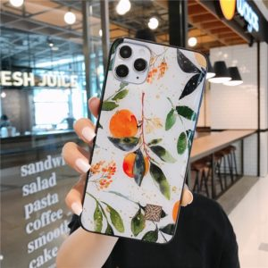 Luxusní tvrzený kryt na iPhone s květinovým vzorem