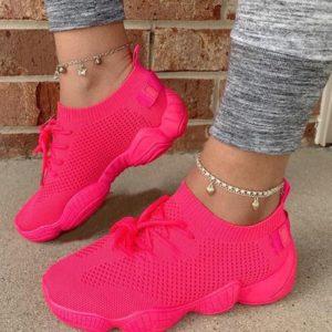 Dámské módní ponožkové tenisky