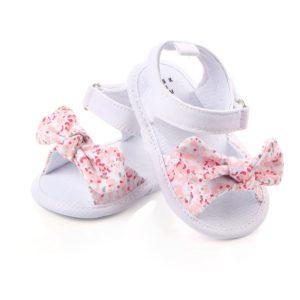 Dětské letní sandálky s mašličkou pro holčičky
