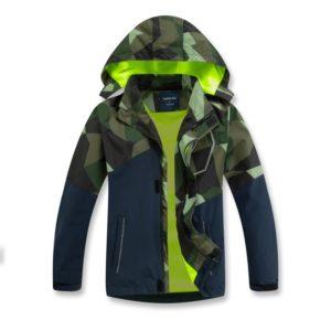 Dětská podzimní bunda s kapucí